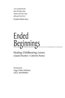 Ended Beginnings: Healing Childbearing Losses
