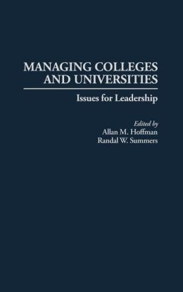 Managing Colleges And Universities