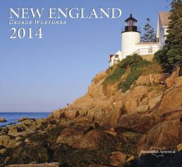 2014 New England Wall Calendar