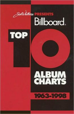 Billboard Top 10 Album Charts, 1963-1998