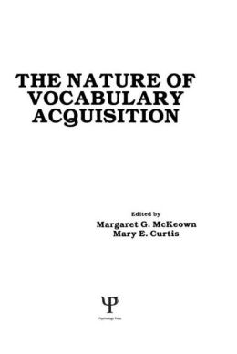 The Nature of Vocabulary Acquisition