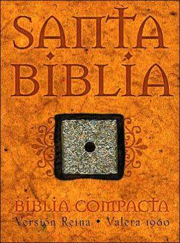 Bible Compacta: Piel elaborada negra con broche