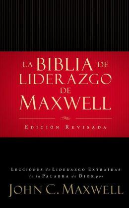 Biblia de liderazgo: de John C. Maxwell