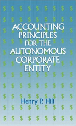 Accounting Principles For The Autonomous Corporate Entity