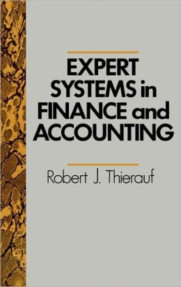 Expert Systems In Finance And Accounting