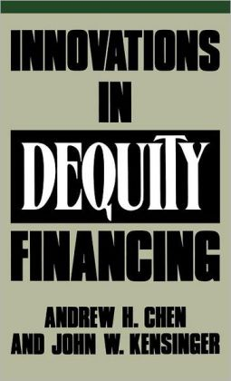 Innovations in Dequity Financing