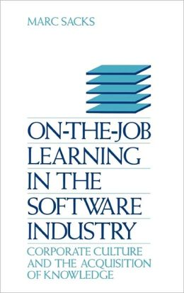 On-The-Job Learning In The Software Industry