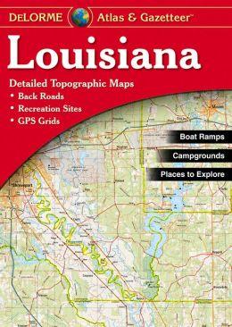Louisiana Atlas and Gazetteer