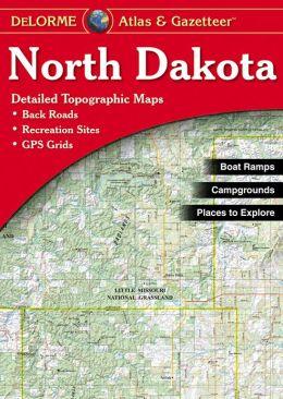 North Dakota Atlas and Gazetteer