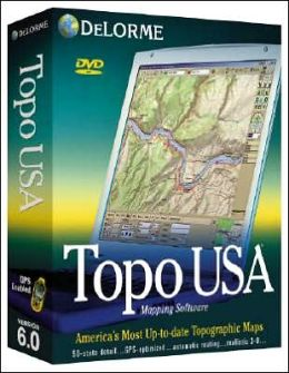Topo USA 6.0 National Map: CD-ROM