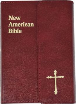 Saint Joseph Gift Bible, Personal Size Edition: New American Bible (NAB), burgundy bonded leather, magnet closure