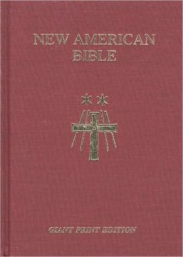 Saint Joseph Giant Print Bible: New American Bible (NAB)