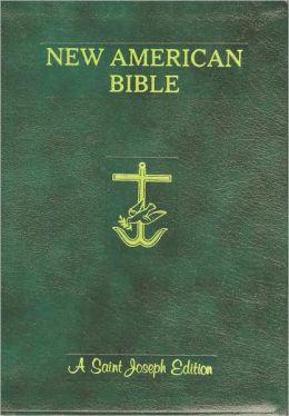 St. Joseph New American Bible: Giant Type