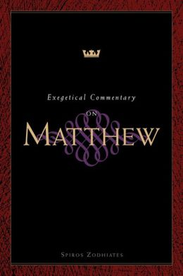 Exegetical Commentary on Matthew