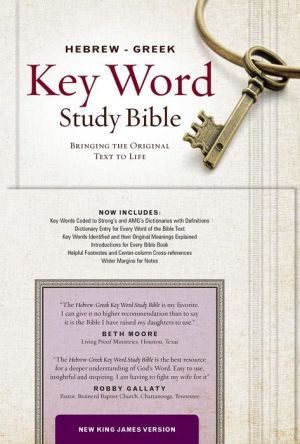 The Hebrew-Greek Key Word Study Bible: NKJV editon, Hardbound