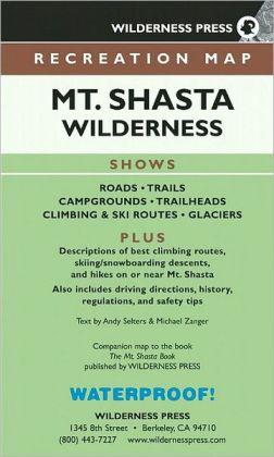 Mt. Shasta Wilderness: Recreation Map