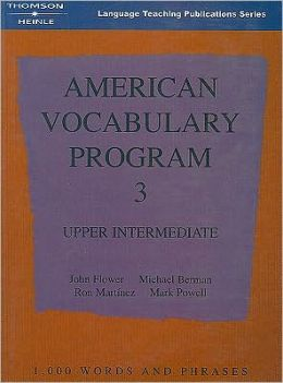 American Vocabulary Program 3: Upper Intermediate