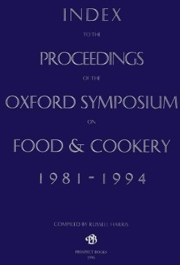 An Index to the Oxford Symposium 1981-1994