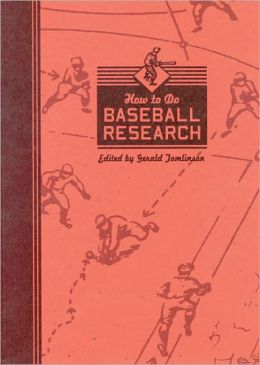 How to Do Baseball Research