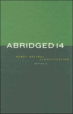 Abridged Dewey Decimal Classification and Relative Index