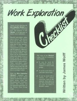 Work Exploration Checklist