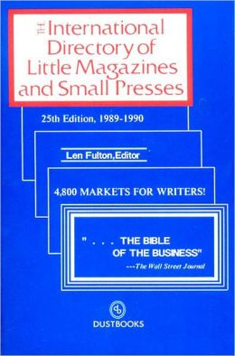 International Directory of Little Magazines and Small Presses, 1989-1990