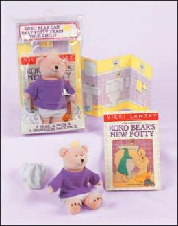 Koko Bear's New Potty: A Practical Parenting Read-Together Book (KoKo Doll Potty Book Package)