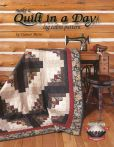 Book Cover Image. Title: Make a Quilt in a Day:  Log Cabin Pattern, Author: Eleanor Burns