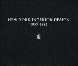 New York Interior Design 1935-1985, 2 Volumes
