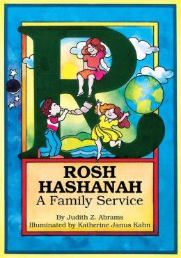 Rosh HaShanah: A Family Service