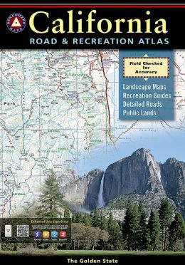 California Road & Recreation Atlas