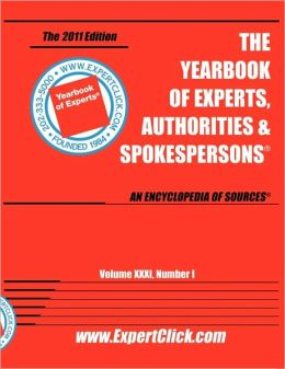 Yearbook of Experts - September 2010 Update