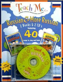 Teach Me Russian & More Russian 2-Pack