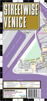 Streetwise Venice Map - Laminated City Center Street Map of Venice, Italy - Folding Pocket Size Travel Map