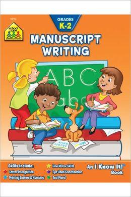Manuscript Writing K-2-Workbook