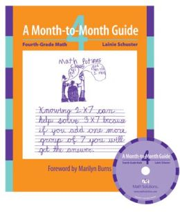 Month-to-Month Guide: Fourth-Grade Math