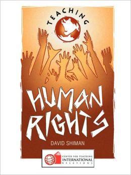 Teaching Human Rights