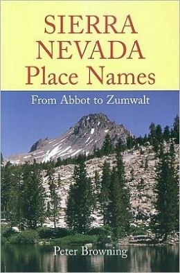Sierra Nevada Place Names