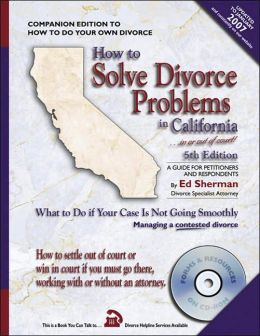 How to Solve Divorce Problems in California: What to Do if Your Case is Not Going Smoothly
