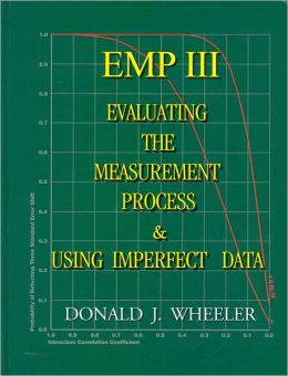 EMP (Evaluating the Measurement Process) III: Using Imperfect Data