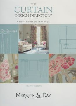 The Curtain Design Directory: A Manual of Black-and-White Designs
