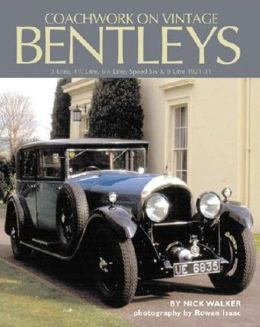 Coachwork on Vintage Bentleys