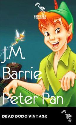 peter pan jm barrie book report