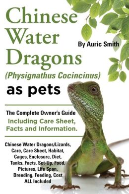 water dragon diet and care