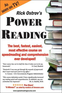 Power Reading: The Best, Fastest, Easiest, Most Effective Course on Speedreading and Comprehension Ever Developed!