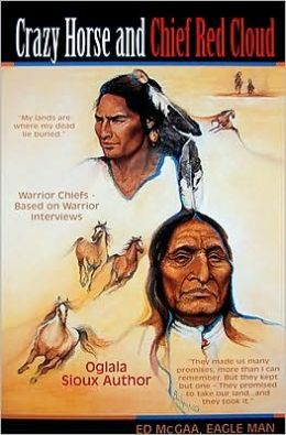 Crazy Horse and Chief Red Cloud
