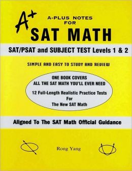 A-Plus Notes for SAT Math: SAT/PSAT and Subject Test Levels 1 & 2