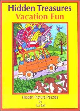 Vacation Fun Hidden Treasures: Hidden Picture Puzzles