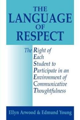 The Language of Respect: The Right of Each Student to Participate in an Environment of Communicative Thoughtfulness