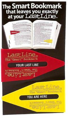 Last Line Bookmark Multi set of 2